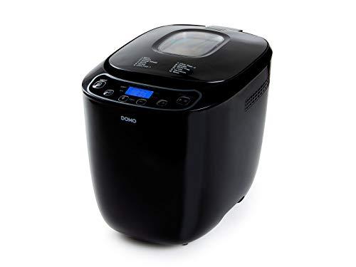 Brotbackautomat bis 1000 Gramm mit Zusatz Knethaken - 12 Programme für zahlreiche Brot Kuchen & Pizza Teigsorten