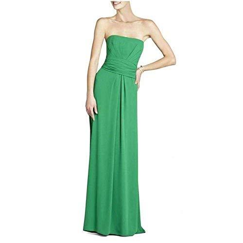 BCBGMAXAZRIA BCBG Maxazria Whitley Green Strapless Dress
