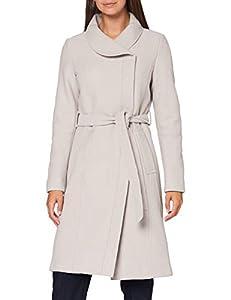 Bugatti Damen 661500-64088-30 Wollmischungs-Mantel, beige, 48