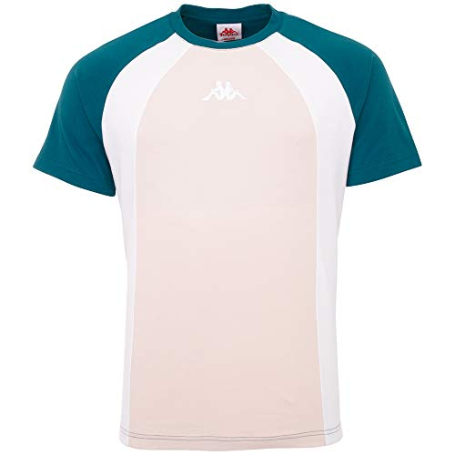 Kappa Authentic Fynn Camiseta, Hombre, Blue Coral, Extra-Large