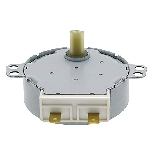 JAP768 2 unids AC 220-240V 4W 6RPM 48MM Micro Motor síncrono en Ajuste for soplador de Aire Caliente 50 / 60Hz CW/CCW TYJ50-8A7 Motor de Bandeja de Horno de microondas