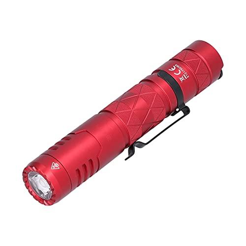 Semiter Linterna USB Recargable, Conveniente de Usar Fácil de operar Linterna LED P9 Fácil de Llevar para Amigos para Acampar en casa