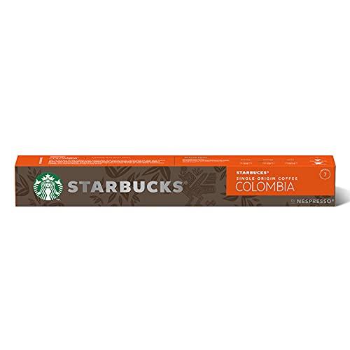 Starbucks Single-Origin Colombia By Nespresso Caffè Espresso 10 Capsule