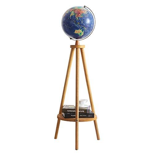 LXHLDD Stehleuchte Antike Stehlampe Globen Dekorationen Wohnzimmer Studie dekorative Lichter Stehleuchte (Color : A)