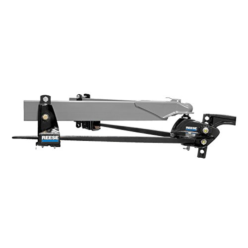 Reese 66560 Steadi-Flex Trunnion Weight-Distributing Hitch Kit with Shank - 12,000 lb.