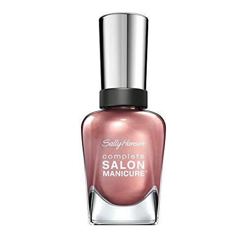 Sally Hansen Complete Salon Manicure Nagellack mit Keratinkomplex Raisin the Bar, Rosé, glänzender Pflegelack ohne UV-Licht, langanhaltend Nr. 320, (1 x 14,7 ml)