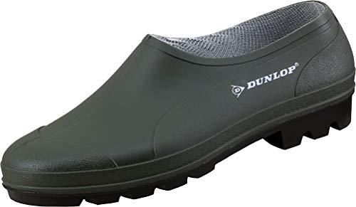 Dunlop Bicolour Gummischuh, Grün/Schwarz, 40