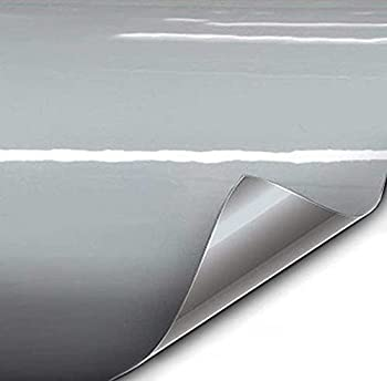 VViViD+ Premium Vinyl Wrap Film  1ft x 5ft Gloss Nardo Grey