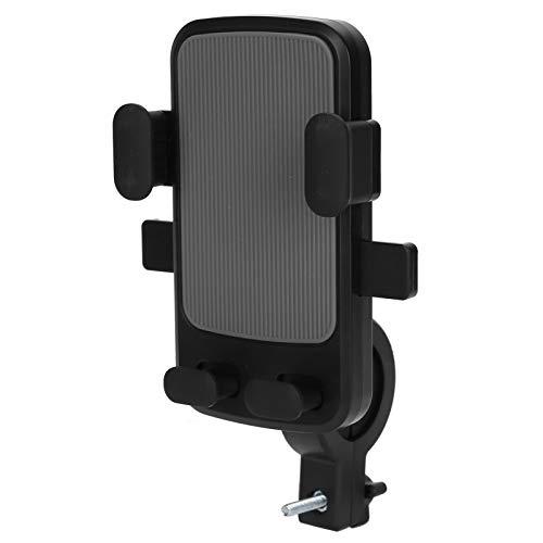 Soporte para Teléfono para Ciclo de Bicicleta, Soporte para Teléfono Móvil Ajustable Giratorio de 360 ° para Motocicletas Fácil de Instalar