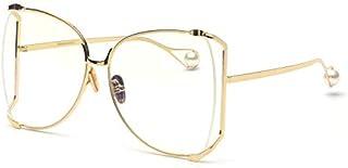 FAGUMA Oversized Sunglasses For Women Semi Rimless Brand...
