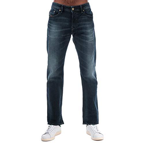 Diesel Waykee - Hellblaue Wash - Gerade geschnittene Jeans