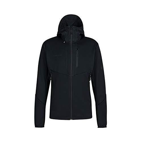 Mammut Herren Ultimate VI Hooded Softshelljacke, Black, M