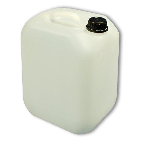 Wilai GmbH Bidon – Jerrican 10 L, Naturel, Ouverture DIN 45, HDPE Alimentaire (22003)