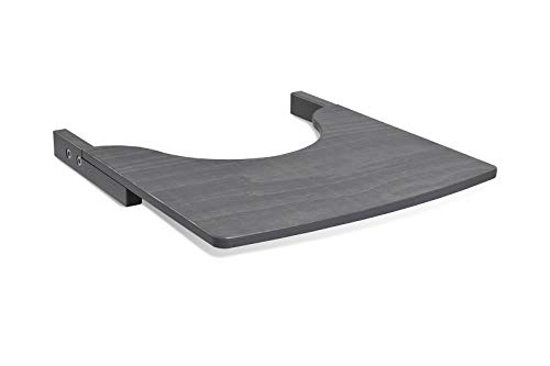 TiSsi 100094 Tisch für Kinderhochstuhl, grau, 1.4 kg