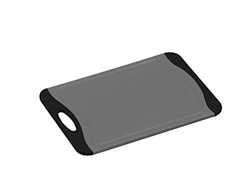 KESPER 30875 Kunststoff Schneidbrett 29 cm mit Rutsch-Stopp/Schneidebrett/Tranchierbrett/Schneideunterlage
