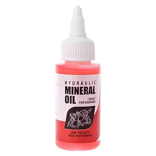 Sistema de aceite mineral para frenos de bicicleta, 60 ml, líquido para...