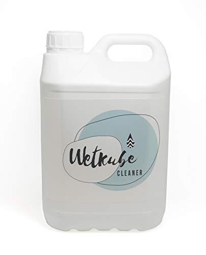 WETKUBE Cleaner - 5 litros, Detergente para Limpiar Trajes de Neopreno, Elimina Sal y Cloro, Desinfecta, Mantiene Elasticidad, con Acido Láctico y Olor a Fresco.
