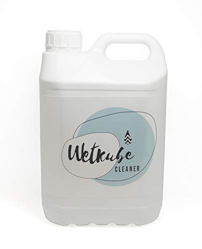 WETKUBE Cleaner 5 litros - Jabón para Limpiar Trajes de Neopreno, Elimina Sal y Cloro, Desinfecta, Mantiene Elasticidad, con Acido Láctico y Olor a Fresco. (5 litros)