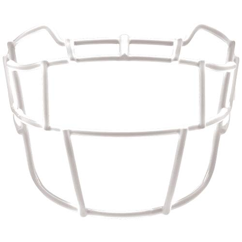 Schutt Sports VEGOP TRAD Carbon Steel Vengeance Varsity Football Faceguard, White