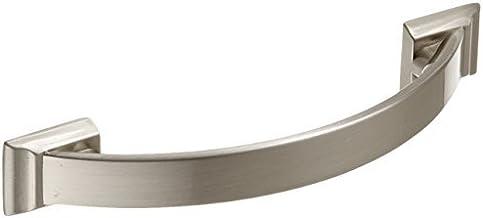 Amerock BP29355G10 Candler 3-3/4in(96mm) CTC Pull - Satijn Nikkel door Amerock