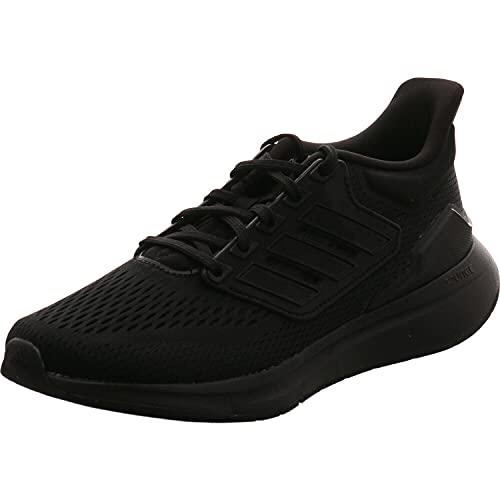 adidas EQ21 Run, Zapatillas de Running Mujer, NEGBÁS/NEGBÁS/NEGBÁS, 37 1/3 EU