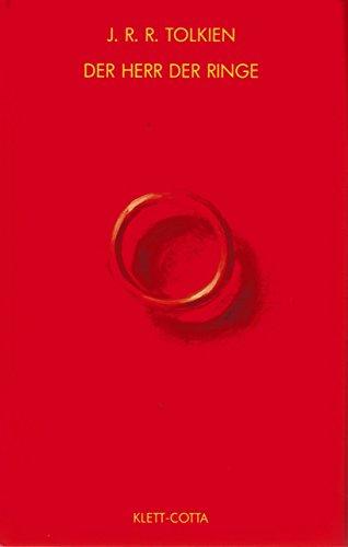 Der Herr der Ringe. 3 Bände in 1 Band. Mit zahlreichen Anhängen und 1 Register. Aus d. Englischen v. Margaret Carroux. Gedichtübertragungen v. E.-M. von Freymann.