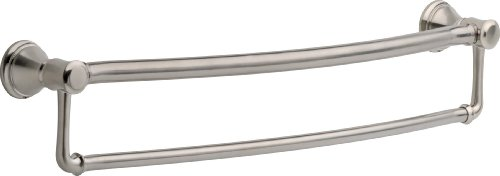 Delta Faucet 41319-SS Traditional Towel/Assist Bar, 24-Inch, Stainless by DELTA FAUCET