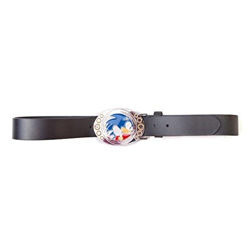 SONIC - Boucle de ceinture + Ceinture : Sonic Running (L)