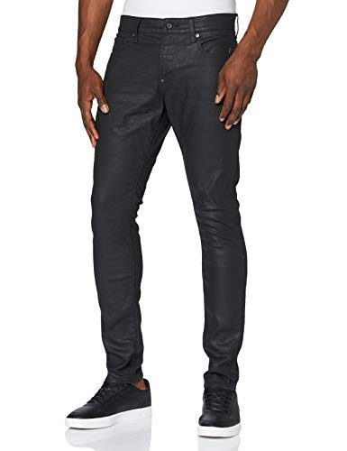 G-STAR RAW Herren Skinny Jeans Revend, Dark Aged 6590-89, 33W / 30L