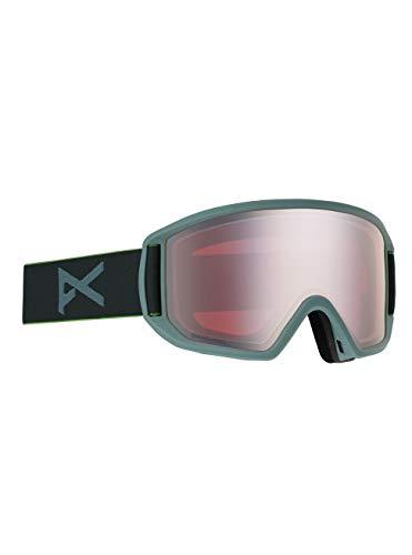 Anon Herren Relapse Snowboard Brille, Gray/Sonarsilver