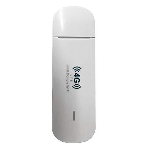Wivarra 4G USB Dongle WiFi Router WiFi Modem 150M con Ranura para Tarjeta SIM Mobile WiFi Hotspot para Oficina