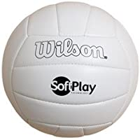 Wilson Super Soft Play Volleyball (White)