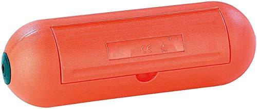 Electraline 300176 Scatola di Protezione Stagna per Spina e Presa Volante Impermeabile Ip44, Arancione