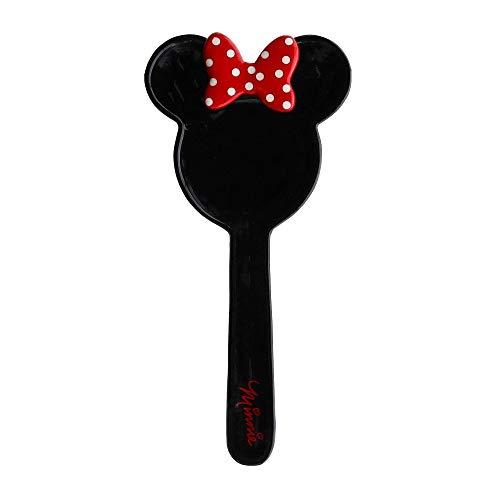 Disney Minnie Mouse Black Ceramic Kitchen Spoon Rest, 10 Inches