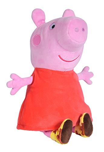Simba Peluche Peppa Pig con Sonido 22 cm, Color 1, 25 cm (109261009)