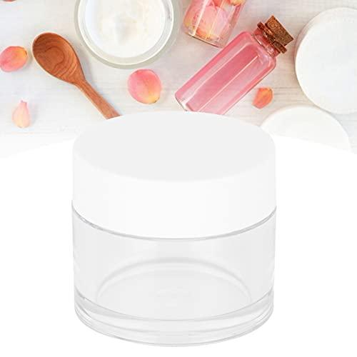 Annjom Envases de cosméticos, frascos de Vidrio Redondos vacíos 10 Piezas para cosméticos para Pendientes para Uso en Viajes