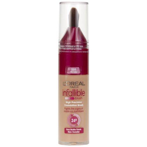 L'Oreal - Infallible - High Precision Foundation Brush - N°235 Honey - 25ml