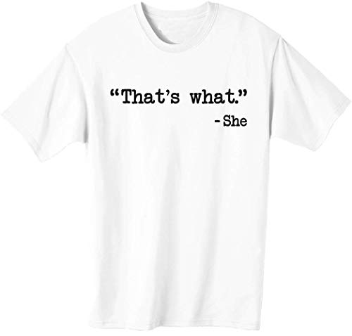 Thats What She Said The Office US T-Shirt da Uomo XX-Large
