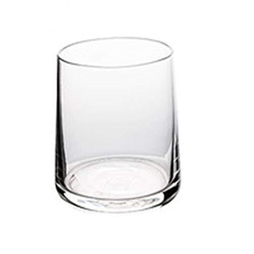 Whiskyglazen, loodvrij kristalglas, handgeblazen, voor koffie, thee, whisky, cocktails en alle dranken – minimalistisch en duurzaam Transparant.