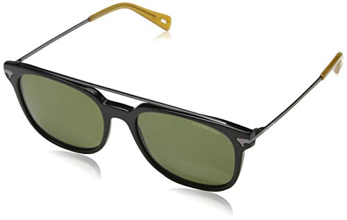 G-STAR RAW Sonnenbrille GS667S-001-55 Gafas de sol, Negro (Schwarz), 55.0 para Hombre