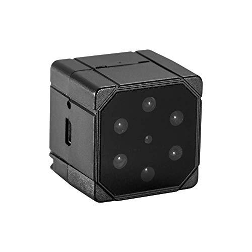 Cámara oculta magnética 4K HD, micro vigilancia wifi de seguridad pequeña, invisible, con visión nocturna inalámbrica, con detección de movimiento, portátil, para exterior/interior, color negro