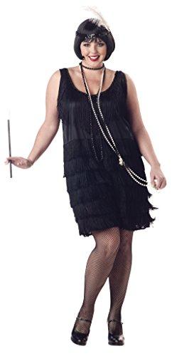 Unbekannt Aptafêtes – CS968915/Xxl – Damen-Kostüm für 20er-Jahre, Größe XXL