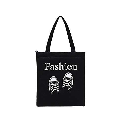 huiteng Bolsa de la compra, bolsa de compra, bolsa de regalo, resistente, con asas, multiusos (A)