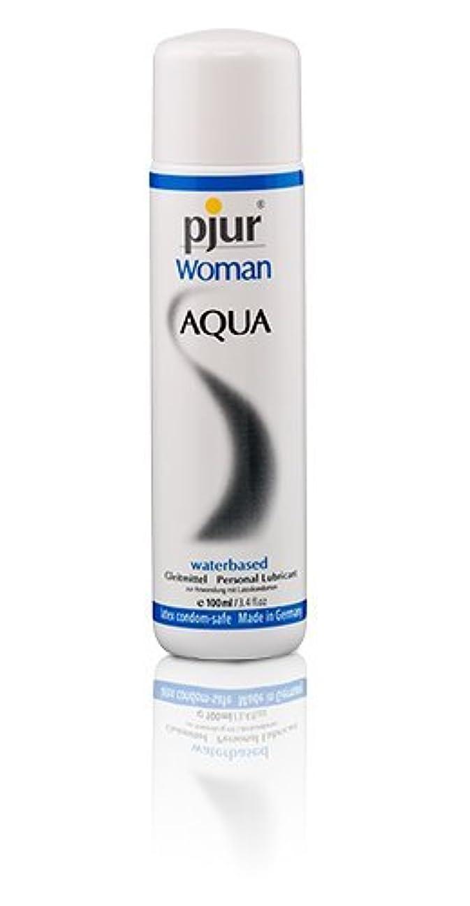 マウント強打痛みPjur Woman Aqua Bottle Lubricant - 100ml