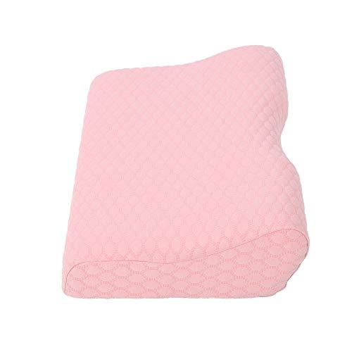 Almohada rosa, espuma de memoria hecha 6pcs imanes diseños de cuello curvo parejas almohada