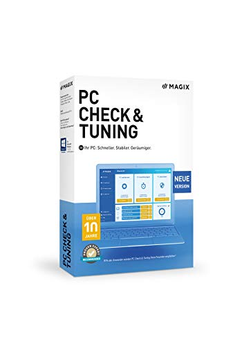 Magix PC Check & Tuning 2021 Vollversion, 1 Lizenz Windows Systemoptimierung