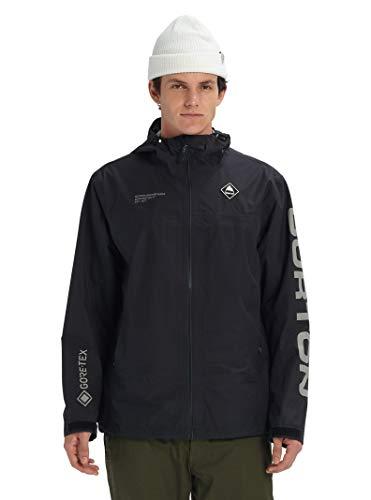 Burton Men's Gore-tex Packrite Jacket Slim, True Black, Small