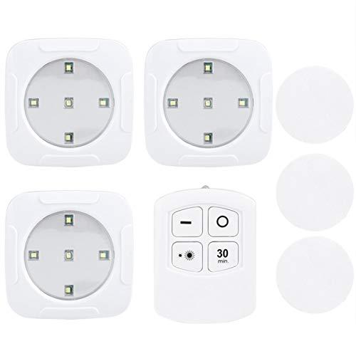 Uxsiya Con la luz de control remoto inalámbrico LED para la luz del pasillo de los gabinetes