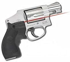 Crimson Trace LG-105 Lasergrips for Smith & Wesson J-Frame (Round Butt) Revolvers