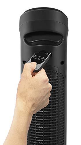 Rowenta SO9420F0 Intense Comfort Hot Calefactor cerámico de torre, silencioso, función Eco, temporizador, función auto y manual, incluye mando a distancia